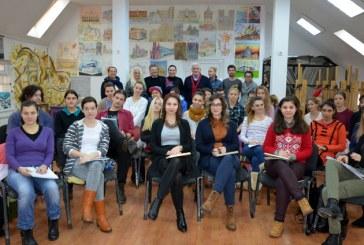 Ce le propune prefectul Anton Rohian elevilor de la Liceul de Arte Baia Mare (FOTO)