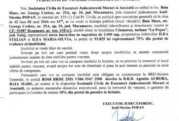 Vanzare teren intravilan in Ciumarna, judetul Salaj – Extras publicatie vanzare imobiliara, din data de 13. 01. 2016