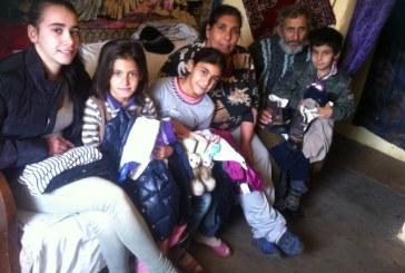 HHC sustine familiile din Romania. Andreea a revenit langa cei dragi