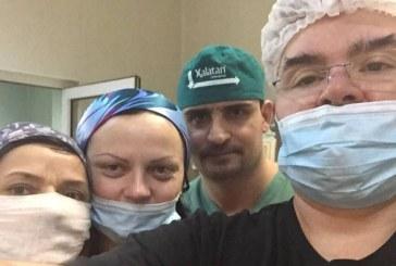 Echipa de chirurgi a Spitalului Judetean Baia Mare a operat trei ore pentru a rezolva o fractura tripla de mandibula