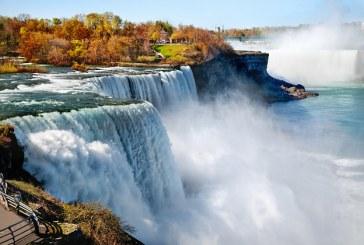 Raul care alimenteaza partea americana a cascadei Niagara ar putea fi secat pentru reamenajarea unor poduri