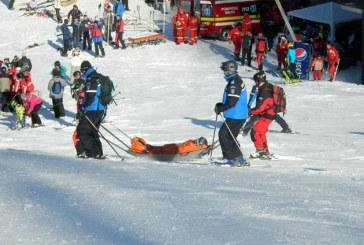 Val de accidente pe partiile de schi din Maramures