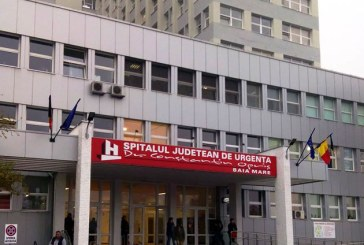 Aproximativ sapte pacienti pe ora au fost internati in 2015, in Spitalul Judetean Baia Mare