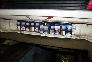 Contrabanda: 4.000 de pachete cu tigari descoperite in masina unui tanar maramuresean