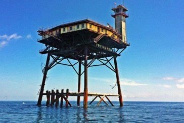 Frying Pan Tower, un hotel unic si potential cel mai periculos din lume