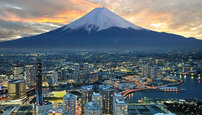 Fujiyama-sunset