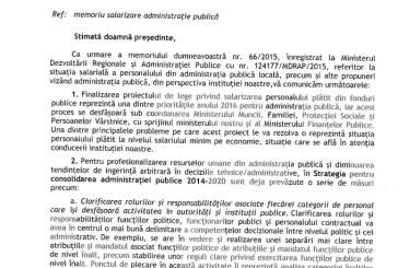 UPDATE: Sindicalistii din administratie asteapta in continuare un raspuns de la Iohannis pe tema problemelor din sistem