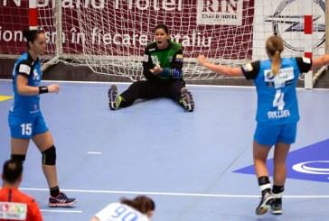 Handbal feminin: CSM Bucuresti s-a calificat in sferturile Ligii Campionilor, dupa 28-23 cu Midtjylland