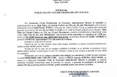 Vanzare teren extravilan in Satu Nou de Jos – Extras publicatie vanzare mobiliara, din data de 24. 02. 2016