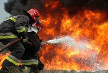 Sase incendii la sfarsit si inceput de an. Lucratorii de la ISU Maramures au intervenit in timp util