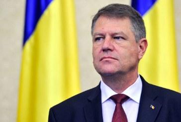Iohannis le-a transmis presedintilor Parlamentului o scrisoare privind declasarea procedurii privind organizarea referendumului