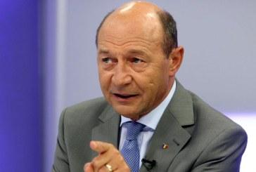 Fostul presedinte Traian Basescu vine sambata in Baia Mare