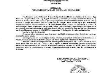 Vanzare casa in Somcuta Mare – Extras publicatie vanzare imobiliara, din data de 09. 03. 2016