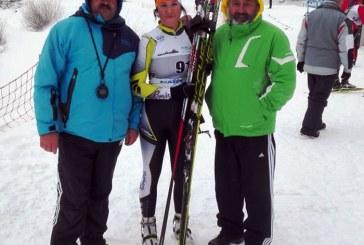 Juniori: Sportiva Danila Florina de la C.S.S. Baia Sprie, tripla campioana nationala la biatlon (FOTO)