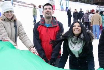 Corina Caragea si Dragos Bucurenci, Jocurile Speciale de Iarna alaturi de copiii beneficiari ai programelor HHC (FOTO)