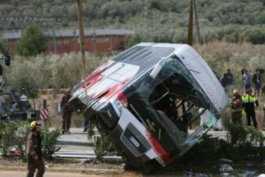 MAE: O studenta romanca a murit in accidentul de autocar care a avut loc duminica in Spania