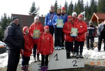 C.S.S. Baia Sprie,la Campionatul National de schi fond. Afla rezultatele obtinute (FOTO)