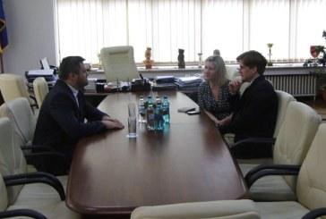 Presedintele Zamfir Ciceu a primit vizita unei delegatii a Ambasadei SUA la Bucuresti