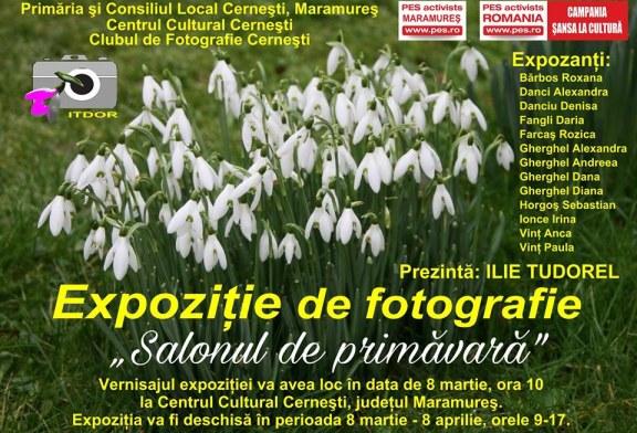"""""""Salonul de primavara"""": O noua expozitie de fotografie la Cernesti"""