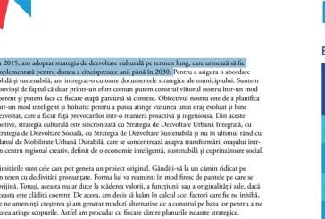 Chereches si oamenii sai au recurs la un FALS pentru a face din Baia Mare capitala culturala europeana in 2021
