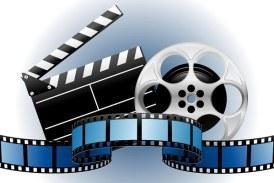 Proiectie de film in aer liber, la Zilele Orasului Baia Sprie
