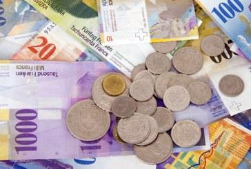 Economia elvetiana a crescut cu doar 0,9% anul trecut