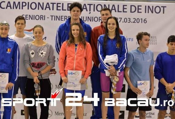 Inot: Inotatorii baimareni au cucerit 15 medalii la Nationale in primele trei zile