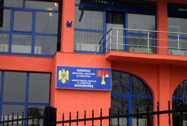 Sindicalistii din invatamant picheteaza Inspectoratul Scolar Judetean Maramures