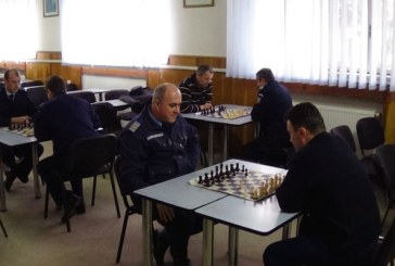 Campionat de sah organizat de jandarmii maramureseni