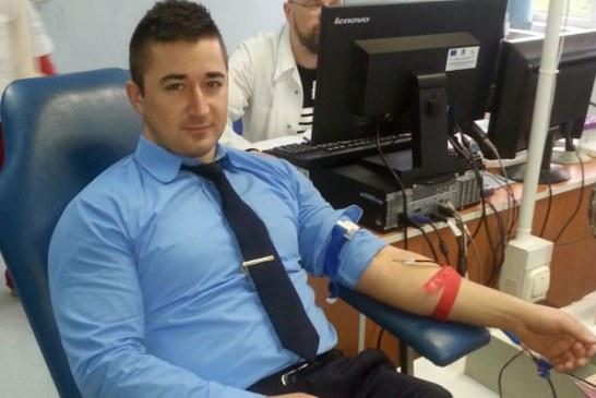 Act caritabil: Jandarmii maramureseni doneaza sange (FOTO)