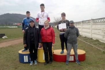 Medalii pentru sportivii de la LPS Baia Mare, la Campionatul National Aruncari de Iarna