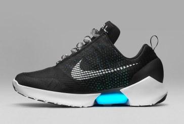 Nike a prezentat prima incaltaminte sport cu sireturi care se leaga singure (VIDEO)