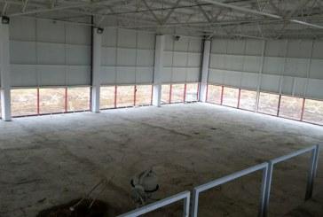 Investitie: Sala de sport din comuna Recea, aproape gata (FOTO)