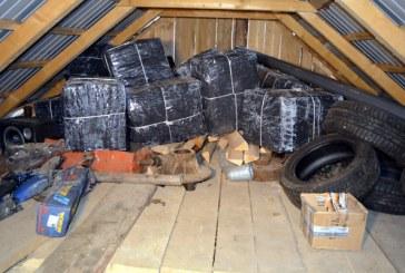 Contrabanda: Peste 16.000 de pachete cu tigari confiscate de politistii de frontiera
