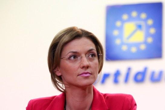Alina Gorghiu va fi presedinte unic al PNL