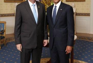 Presedintele Iohannis, la Casa Alba