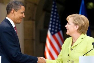 Barack Obama si-a exprimat disponibilitatea de a o inveta pe Angela Merkel sa joace golf
