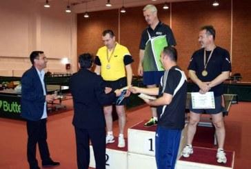 Pompier maramuresean, pe locul II la Campionatul de tenis de masa al MAI (FOTO)