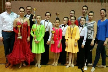 Dansatorii de la Prodance 2000 au cucerit noua medalii la Cupa Floris (FOTO)
