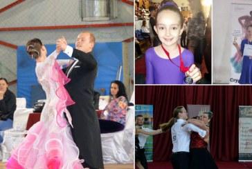 Sfarsit de saptamana de sarbatoare pentru reprezentantii Clubului sportiv Rivulus Dance din Baia Mare