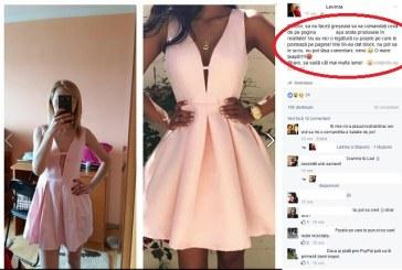 Soc pentru o tanara din Sighetu Marmatiei dupa ce a comandat o rochie online