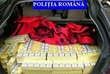 7.180 pachete cu tigari de contrabanda confiscate de politistii maramureseni