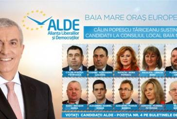Echipa ALDE pentru Consiliul Local Baia Mare. Transparenta si eliminarea coruptiei din administratie