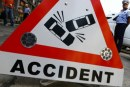 Accident rutier pe DJ 186