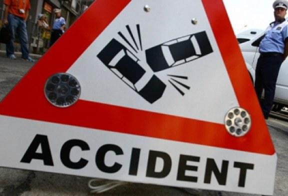 Accident cu doua victime pe DN 1C intre Cicarlau si Ilba