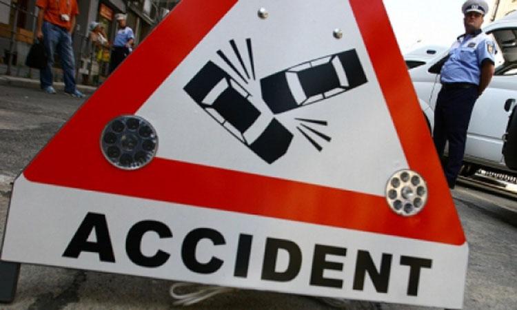 Sofer din Cavnic, ranit dupa un accident rutier