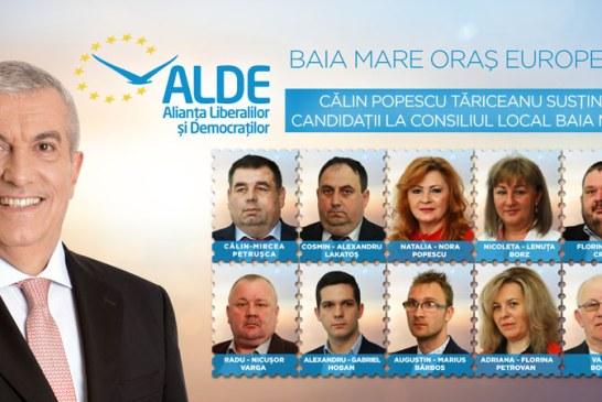 """Calin Petrusca, candidat ALDE la CL Baia Mare: """"Echipa propusa de ALDE pentru CL Baia Mare este una competenta"""""""