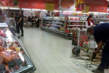 Baimareni deranjati de efectele unor lucrari realizate intr-un hipermarket