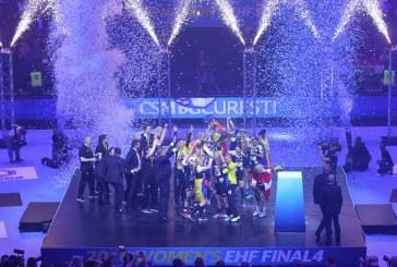 Handbal: CSM Bucuresti scrie istorie la Budapesta si castiga Liga Campionilor