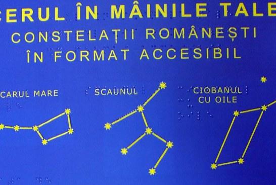 """Expozitia tactila  """"Cerul in Mainile Tale"""", la Complexul Astronomic Baia Mare"""